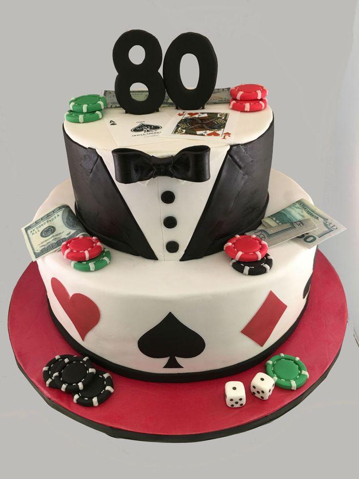 Poker Cake on Cake Central