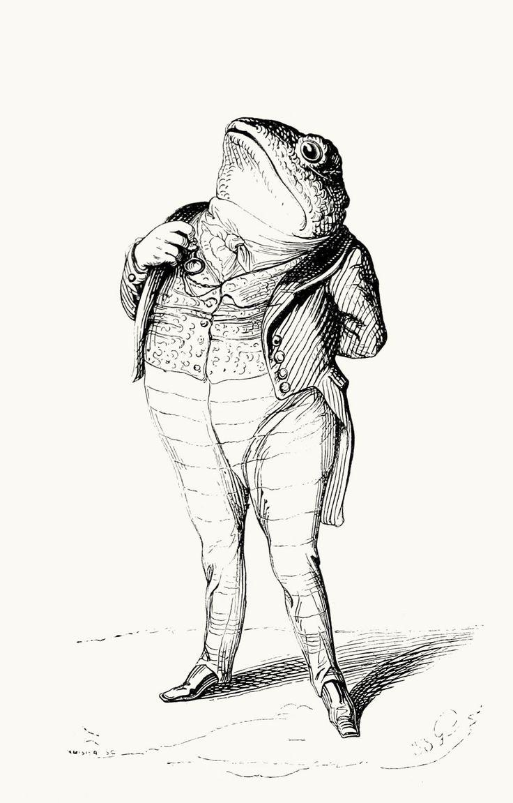 J-J. Grandville, Vie privée et publique des animaux [Public and Private Life of Animals], under the direction of P. J. Stahl, Paris, 1867 •