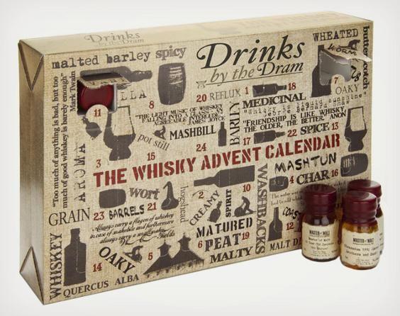 大人だってワクワクしたいっ!クリスマスまで毎日日替わりでウィスキーを楽しめるカウントダウンカレンダー