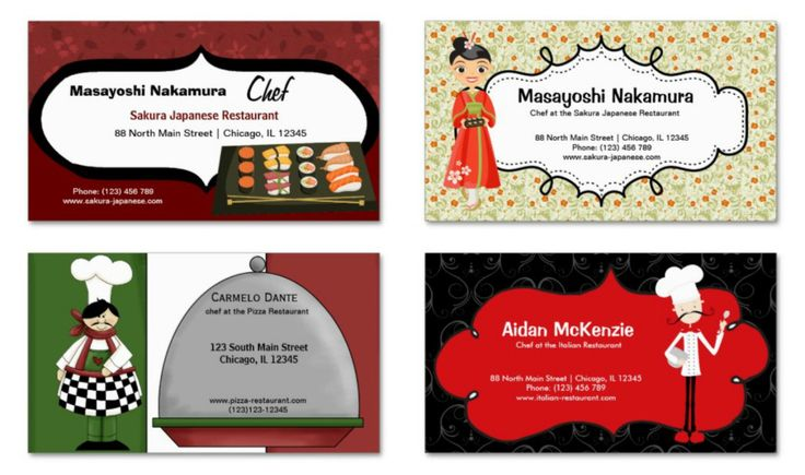 #restaurant #businesscards in different products & designs. Check more at www.zazzle.com/graphicdesign/restaurant