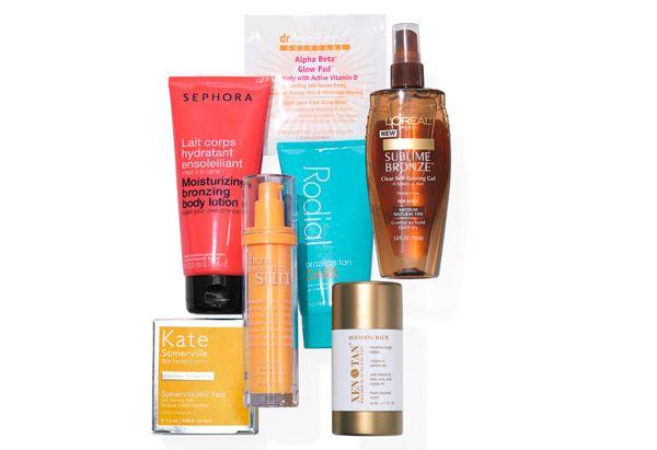Dr. Dennis Gross Skincare dgskincare.com  Sephora Lotion  sephora.com  Xen-Tan Blending Balm (after tan)  xen-tan.com