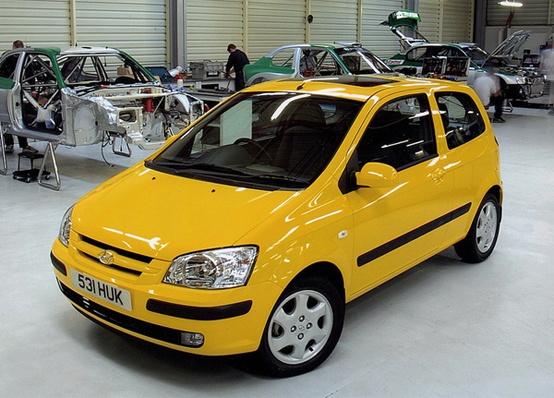 2002 Hyundai Getz 1.6 Sport