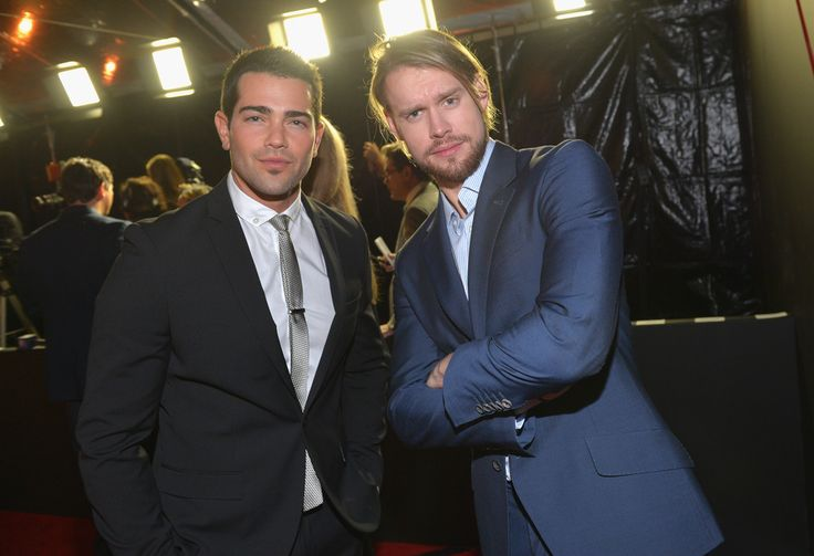 Jesse Metcalfe and Chord Overstreet of Glee!