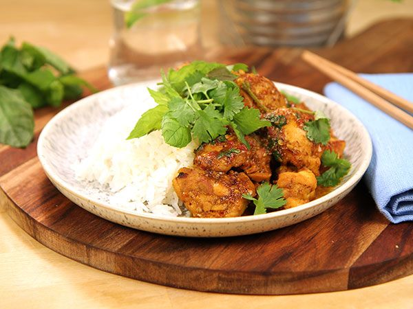 Kyckling med citrongräs och chili | Recept från Köket.se