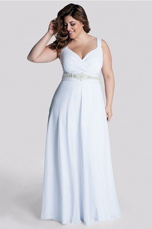 White Diamonds Plus Size Wedding Gown, Igigi | 31 Jaw-Dropping Plus-Size Wedding Dresses