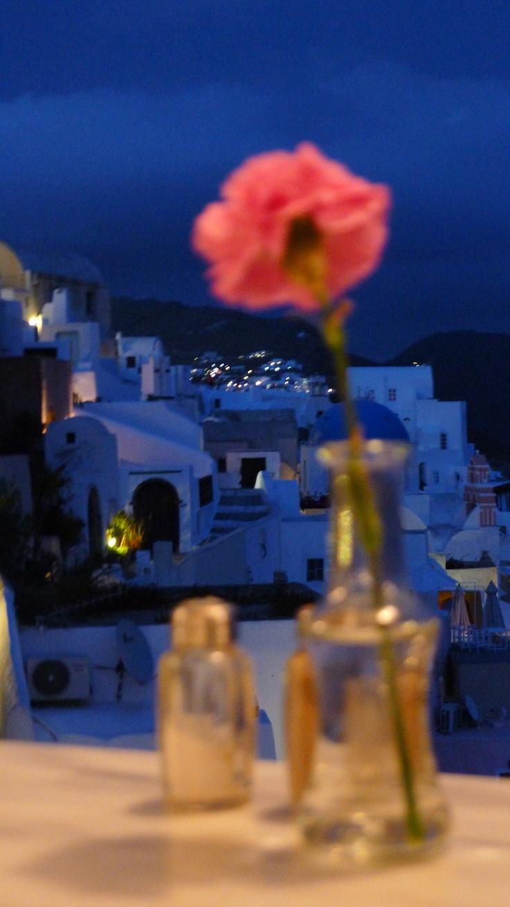 Santorini Evening