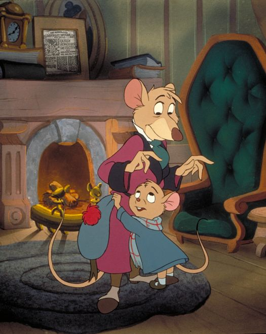 The Great Mouse Detective. Has to be one of all time fav and as a young and still now Sherlock fan it was the best.