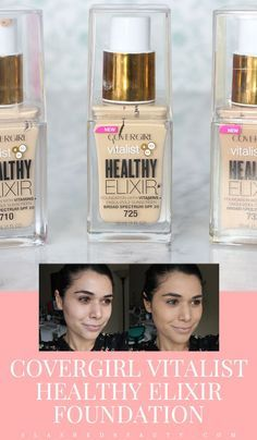 Get the scoop on the latest drugstore foundation causing buzz! Read the review of Covergirl Vitalist Healthy Elixir Foundations, and if it would work for your skin!   Slashed Beauty