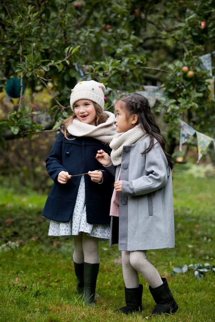 Premium winter clothing for girls from Irish designer Leigh Tucker, exclusively for Dunnes Stores