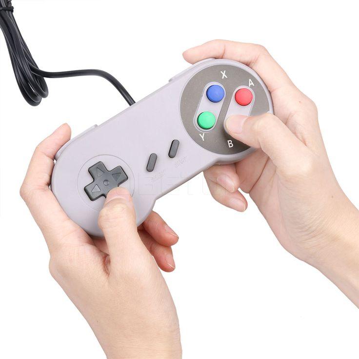 $2.91 (Buy here: https://alitems.com/g/1e8d114494ebda23ff8b16525dc3e8/?i=5&ulp=https%3A%2F%2Fwww.aliexpress.com%2Fitem%2FUSB-Controller-Gaming-Joystick-Gamepad-Controller-for-Nintendo-SNES-Game-pad-for-Windows-PC-MAC-Computer%2F32739391270.html ) USB Controller Gaming Joystick Gamepad Controller for Nintendo SNES Game pad for Windows PC MAC Computer Control Joystick for just $2.91