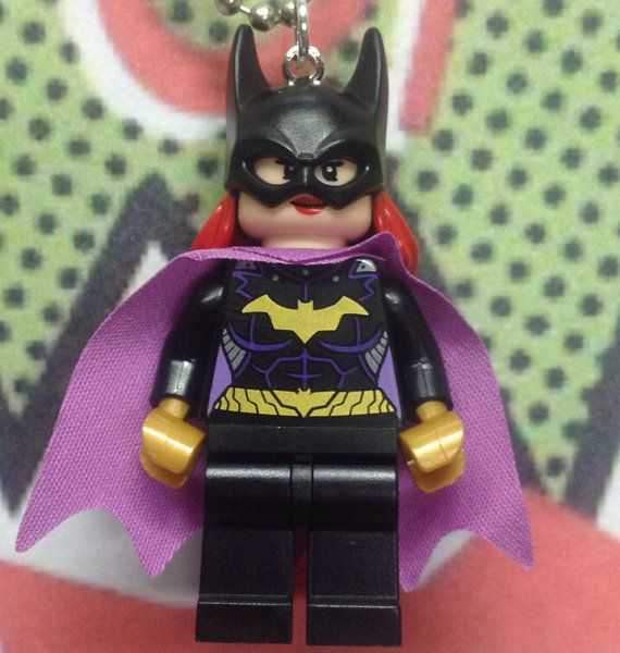 Bat Girl Necklace - Lego Minifigure on Etsy, $15.00