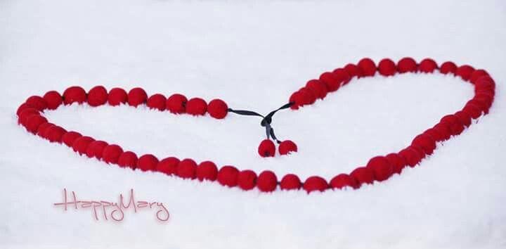 "Collar de fieltro ""Ashberry"". ♡HAPPY MARY♡"