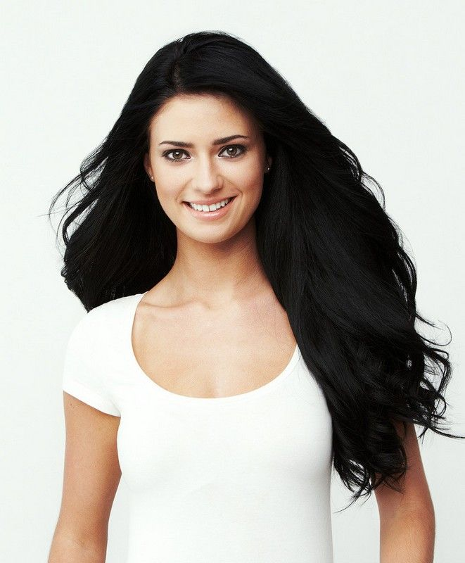 55 best black hair extensions images on pinterest black hair jet black luxy hair clip in hair extensions pmusecretfo Image collections