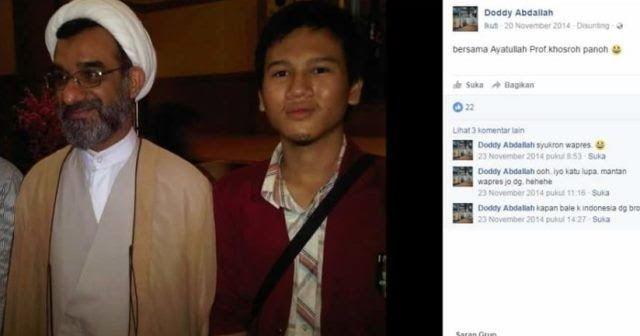 Mahasiswa Pelapor Habib Rizieq, Doddy Abdallah, Ternyata Pengikut Syiah