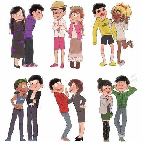 How would you react if you met the opposite gender of yourself?  #osomatsusan #mrosomatsu #osomatsu #karamatsu #ichimatsu #choromatsu #todomatsu #jyushimatsu #osoko #karako #choroko #ichiko #todoko #jyushiko #anime #otaku #new #funny #otaku4ever #otaku4life #otakuforever