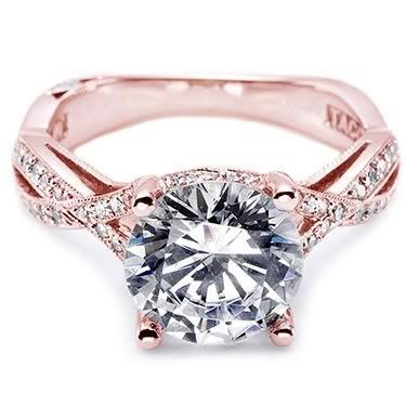 @Jenilee Basa - what do you think of this rose gold engagement ring? it's like your style + my style in one ring!! :D