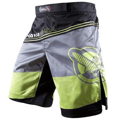 Hayabusa Kyoudo Prime MMA Fight Shorts - 30 - Green