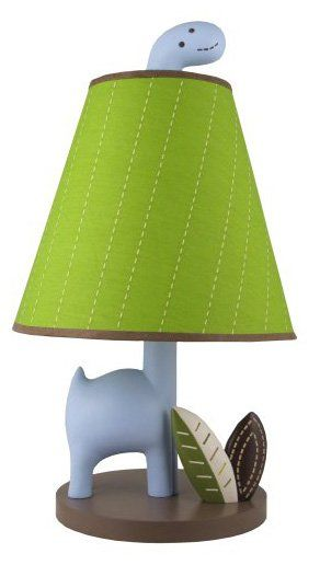 Jill McDonald Adorable Dino Nursery Lamp - casa.com