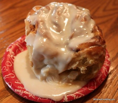 Disney #Recipe from the Vault: Cinnamon Rolls from Main Street Bakery in Magic Kingdom!  #DisneyFood #YUM