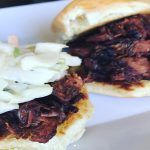 Morgan Hawthorne's Vegan BBQ Pork Sliders - The Lady Loves Couture - Expert Advice on Fashion