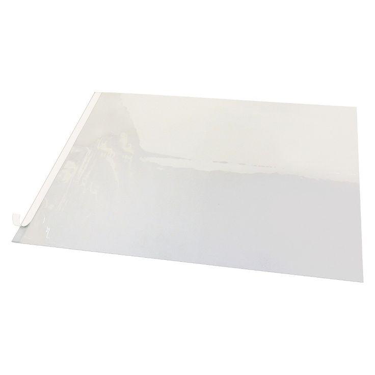 Artistic Second Sight Clear Plastic Desk Protector, 36 x 20, White