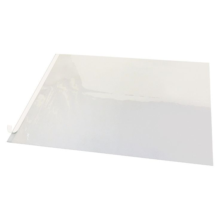 Artistic Second Sight Clear Plastic Desk Protector, 36 x 20, White