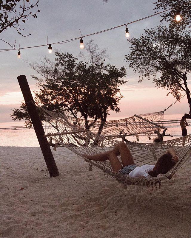 Sunset with the pirates ❤️ @lepiratebeachclub