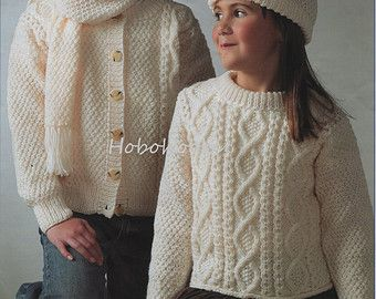 Childrens Knitting Patterns To Download : 25+ best ideas about Aran sweaters on Pinterest Aran jumper, Aran knitting ...