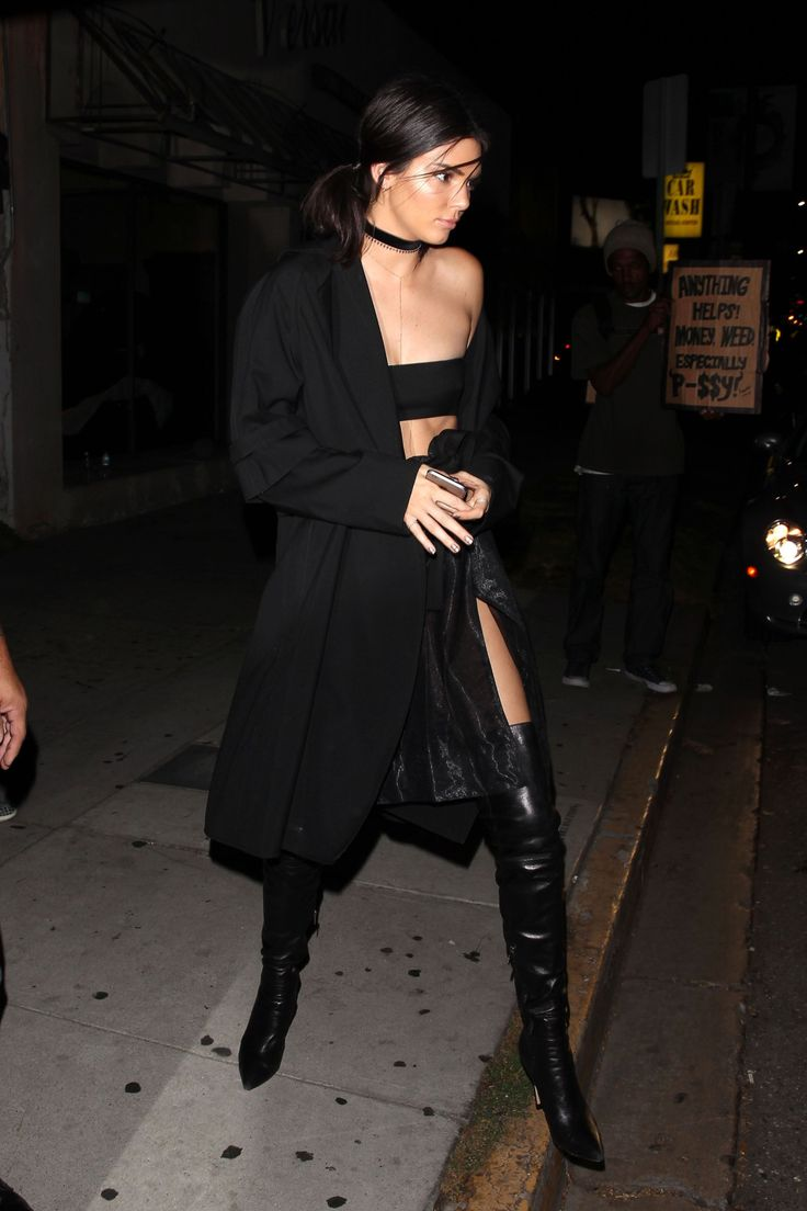 July 31, 2016 - Leaving The Nice Guy in West... Kendall Nicole Jenner Fashion Style