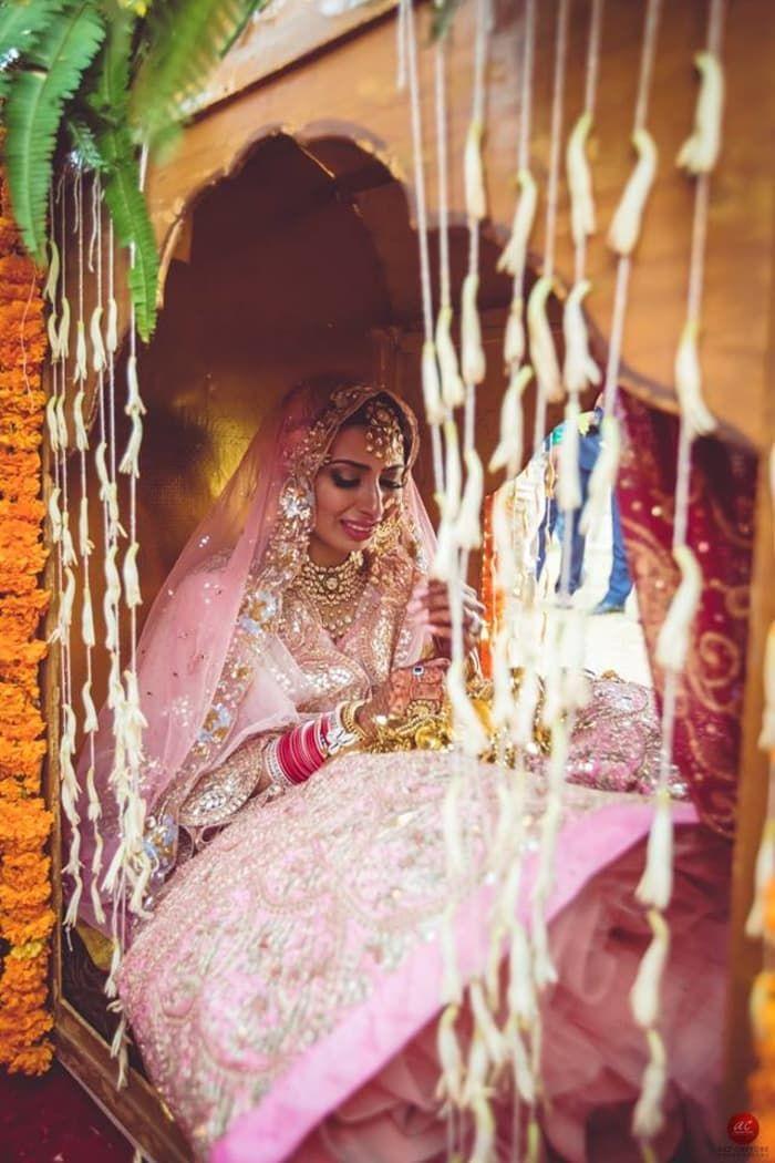Photographer - The Vidaai Ritual! Photos, Punjabi Culture, Beige Color, Decoration, Make Up, Bridal Makeup pictures, images, vendor credits - Brushes and More by Parul Duggal, Frontier Raas, Art Capture Production, WeddingPlz