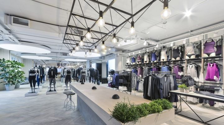 Lululemon store by Dalziel-Pow, London – UK » Retail Design Blog