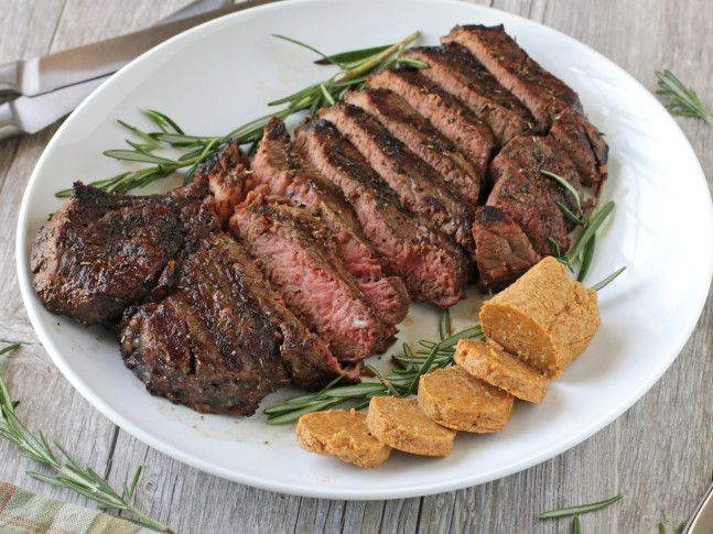 Porterhouse Steak with Parmesan Butter