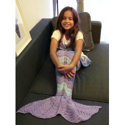 SHARE & Get it FREE   Comfortable Knitting Openwork Color Block Mermaid BlanketFor Fashion Lovers only:80,000+ Items • FREE SHIPPING Join Twinkledeals: Get YOUR $50 NOW!