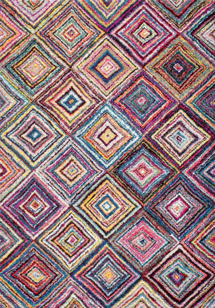Rag Rug Pattern Idea   Rugs USA   Area Rugs In Many Styles Including  Contemporary, Braided, Outdoor And Flokati Shag Rugs.Buy Rugs At Americau0027s  Home ...