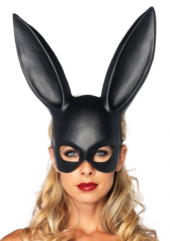 Длинные уши кролика Новинка жуткий Хэллоуин верхней маски резиновые костюм театр опора Сторона маски, предлагающих силиконовые маски