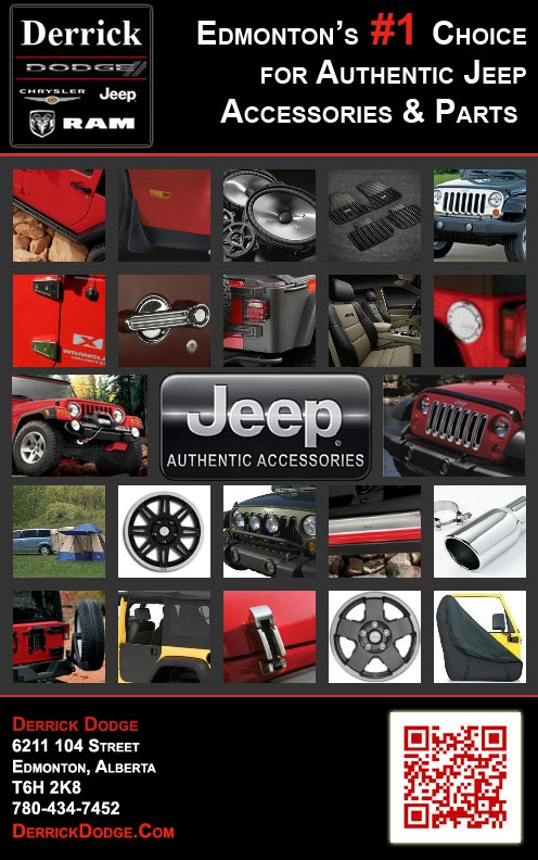 Order your Parts/ Accessories from Edmonton's #1 Choice for Authentic Jeep Accessories & Parts 780-434-7452 #yeg