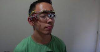 σκαθάρι » Μαθητής από την Άρτα (Άγγελος Γκέτσης) έφτιαξε ειδικά γυαλιά για…