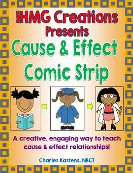 Just in time to break the Spring Slumber!  This super fun, super engaging product explores cause and effect relationships in an exciting, creative way.  The purpose of this resource is to have students examine a  time in their life in which one cause has had multiple effects.