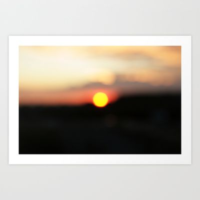 """It was all a blur"" by Shy Photog - $19.00"