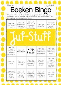 Juf-Stuff: Boeken Bingo