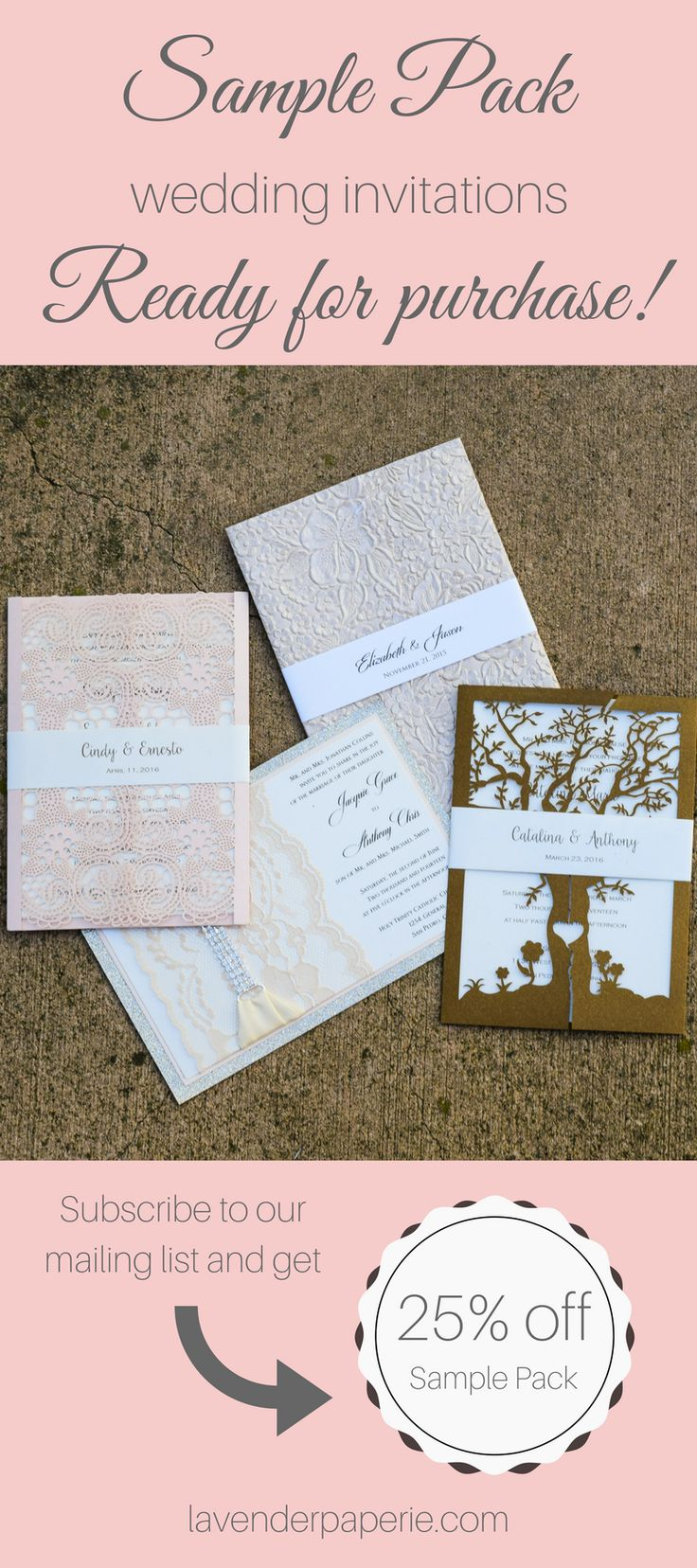 Our Boutique Offers Luxurious Handmade Lace Wedding Invitations As Well Laser Cut And Handcrafted