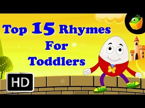 Top 15 Hit Songs For Toddlers-English Nursery Rhyme -Collection Of Cartoon/Animated Rhymes For Kids