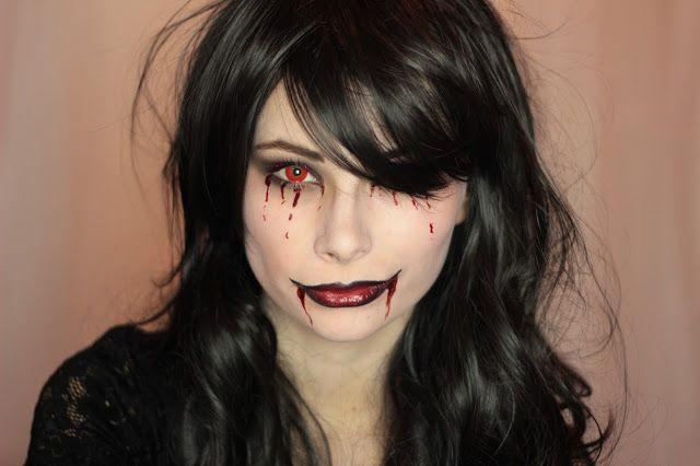 Halloween smink - Vámpír | VISZKOK FRUZSI