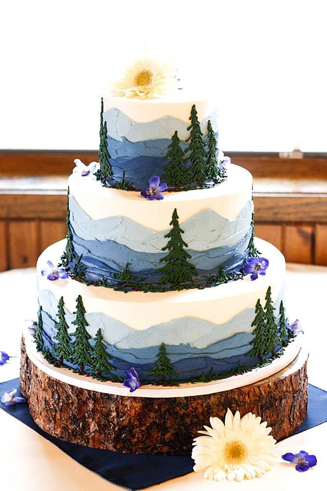 42 Rustic wedding cakes to be seen
