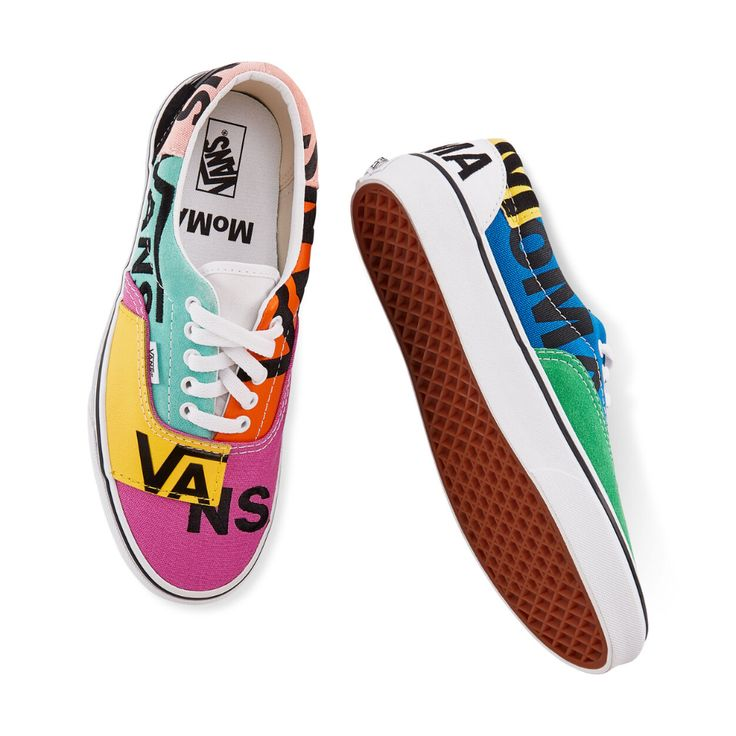 MoMA and Vans Era Sneakers | Vans sneakers, Vans, Vans logo