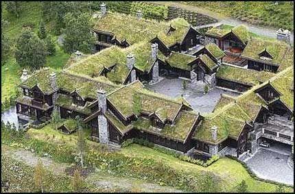 Hytte Røkke, Støllivegen 55, 7340 Oppdal, Norway (2000) - by Arkitektbygg Finn Sandmæl