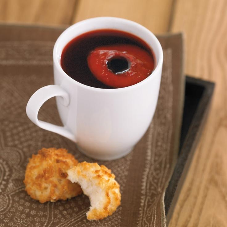 Mulled Pomegranate-Apple Cider #recipe #FoodNetwork #Kohls