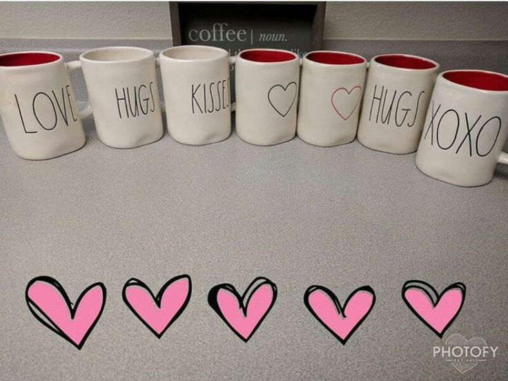 I want all of these mugs! Valentines