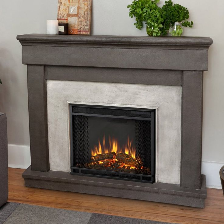 Real Flame Cascade Indoor Electric Fireplace   Dune Stone   3420E DS