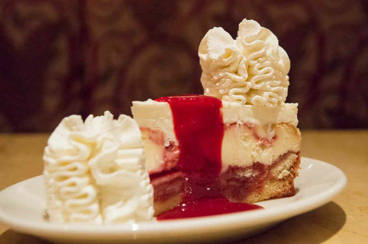 Lemon Raspberry Cream - This aggressively fruity number provided our correspondents with a needed break from chocolate. . . . Ranking every cheesecake at The Cheesecake Factory, 8 of 34.